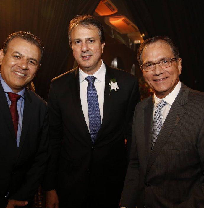 Valdir Fernandes, Camilo Santana E Beto Studart