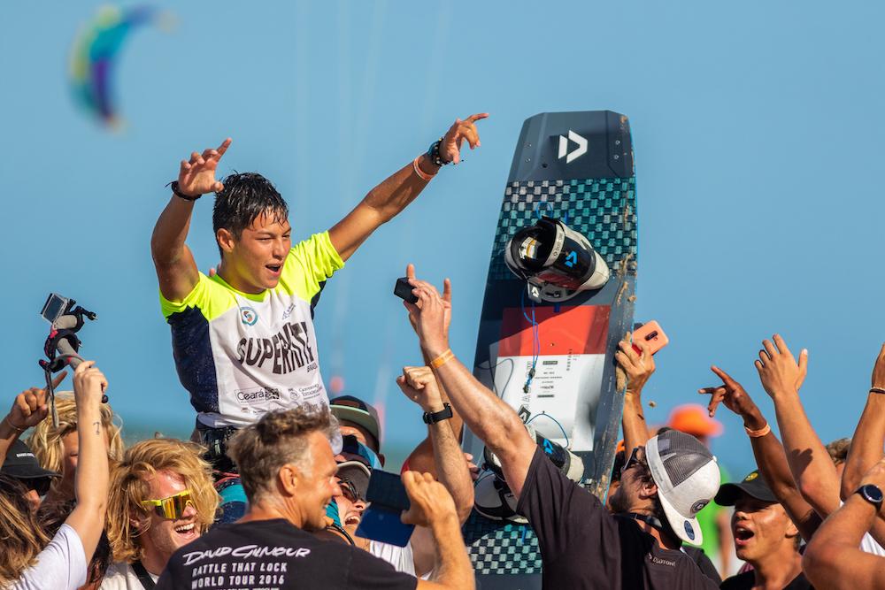 Colombiano se consagra Campeão do SuperKite Brasil 2019