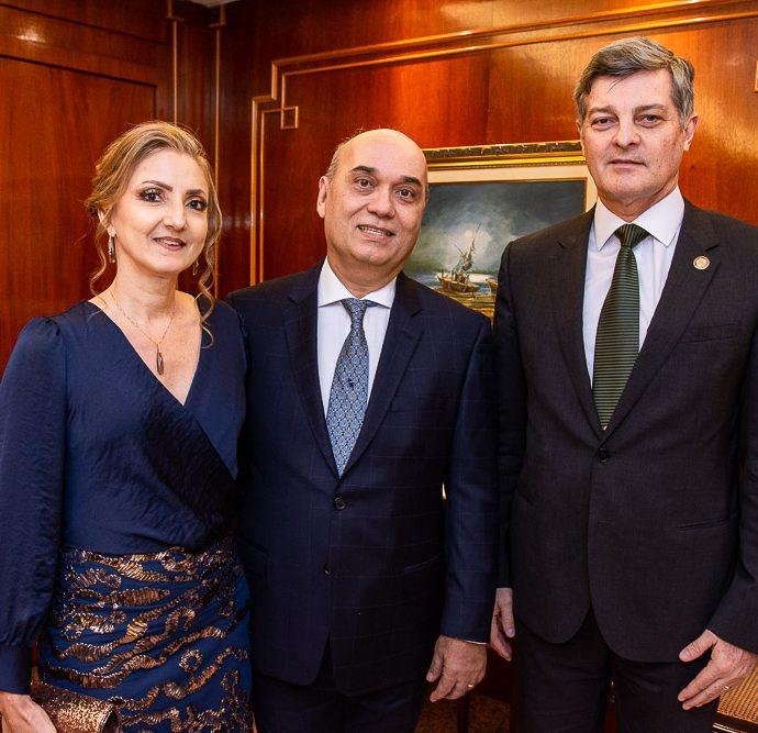 Valeria Lima, Luciano Lima E Cid Marconi