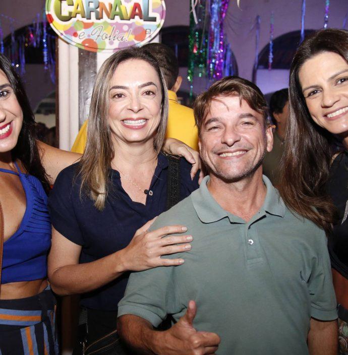 Valeska Pinheiro, Patricia Aguiar, Paulinho Poronga E Viviane Pires