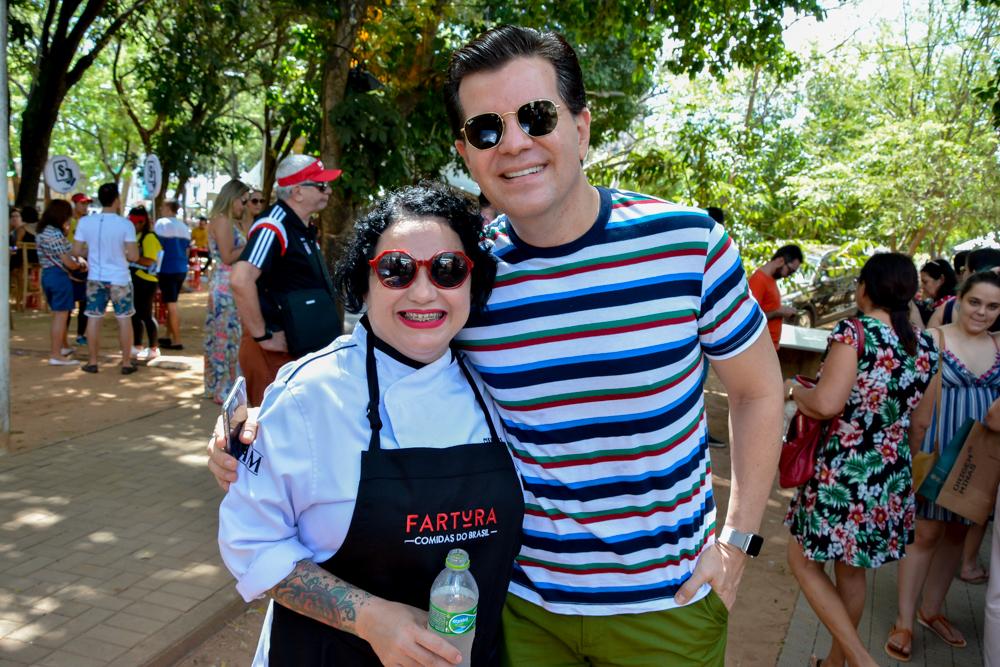 Festival Fartura Fortaleza movimenta a Praça das Flores durante o weekend