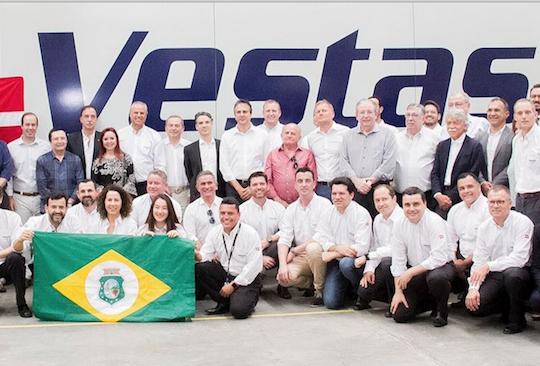 Camilo participa da inauguração da expansão da Vestas no Ceará