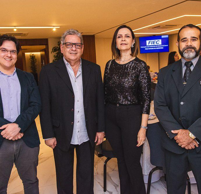 Victor Fernandes, Fred Fernandes, Mirian Pereira E Fernando Arzua
