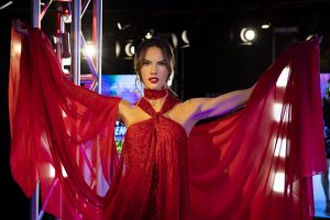 3 Alessandra Ambrosio Launches All New Fashion Experience At Madame Tussauds New York Challenging Guests To Strut Their Stuff 12.05.19