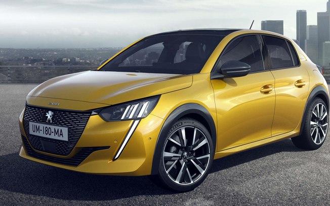 """Novo Peugeot 208 já desponta """"no retrovisor"""" e ganha registro por aqui"""