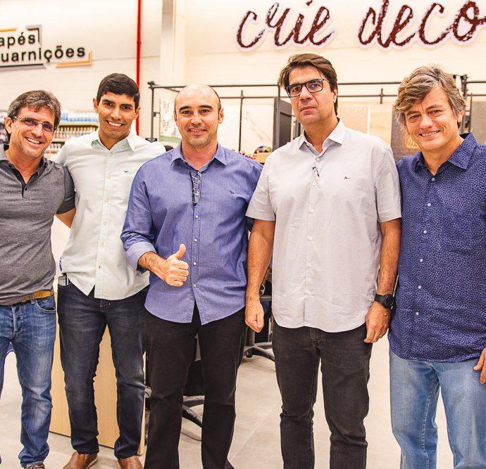 Adalberto Machado, Oziel Filho, Luciano Pinheiro E Marcelo De Castro E Arthur Albuquerque