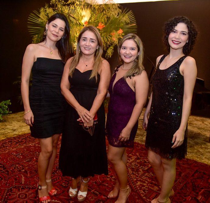 Adelaide Santos, Rafaela Aplinario, Gerivania Polinario, Silvia Candido