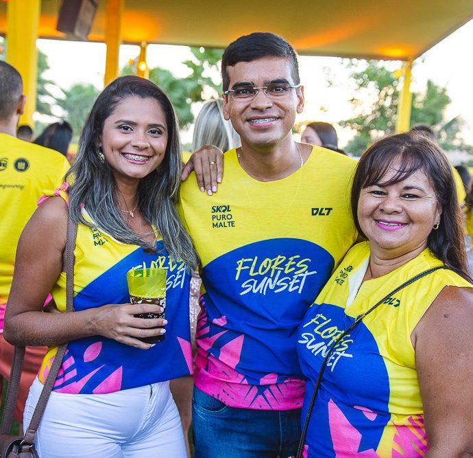 Adeliana Costa, Aranilson Filho E Ana Paula Silva