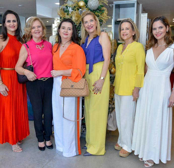 Adriana Miranda, Claudia Vasconcelos, Miuque Fujita, Ana Lucia Cabral, Maria Helena Carvalho E Cristiane Carneiro