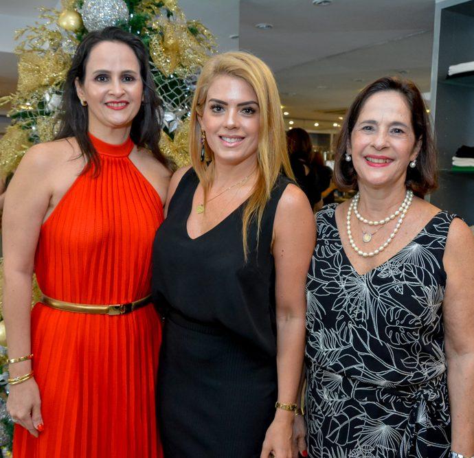 Adriana Miranda, Letícia Studart E Cristina Miranda
