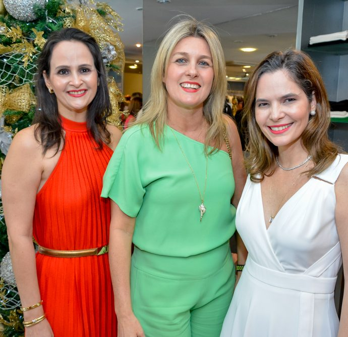 Adriana Miranda, Monique Gurgel E Cristiana Carneiro