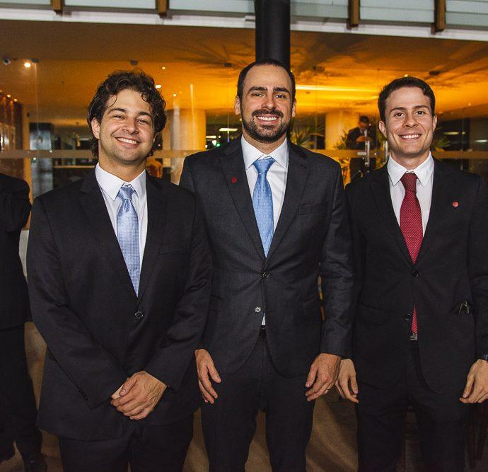 Adriano, Rodrigo E Fradck Ventura