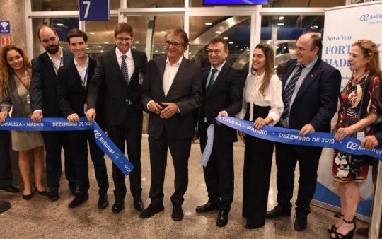 Air Europa inicia voo entre Fortaleza e Madri com taxa de ocupação de 96%
