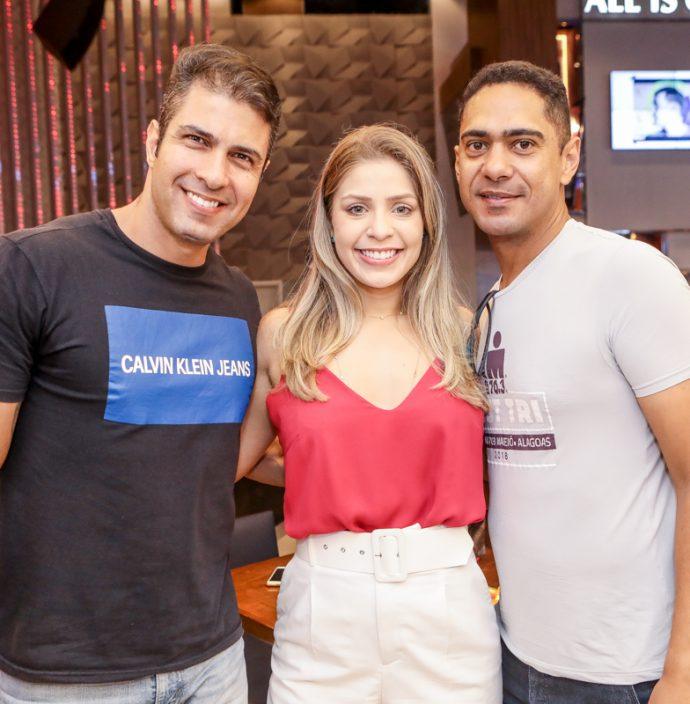 Alan Cavalcante, Isabel Lobo E Helcio Queiroz