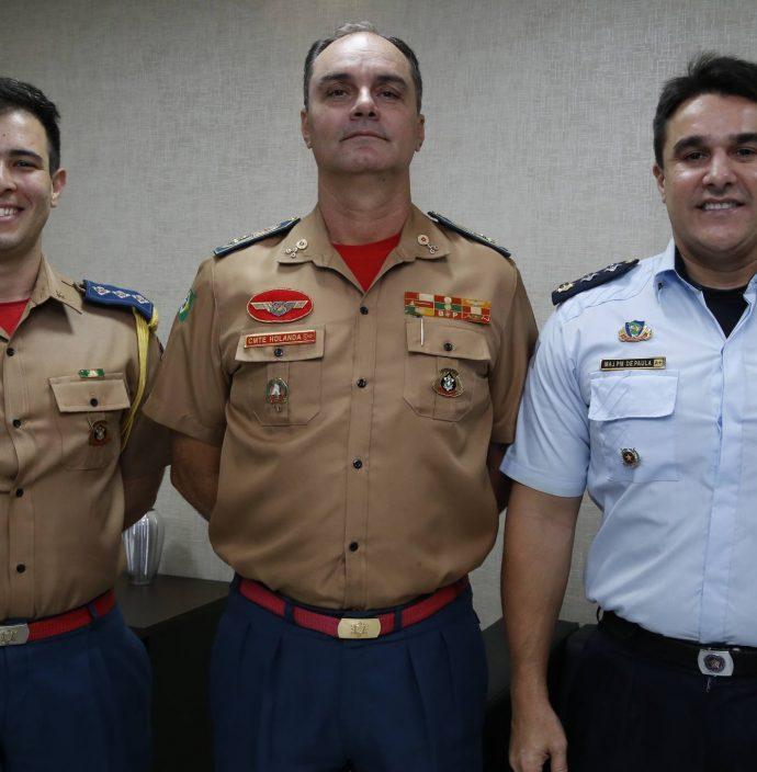 Alan Lucio, Eduardo Holanda E Vicente De Paula