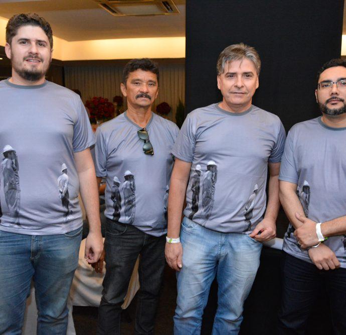 Alan Sousa, Vicente Chavier, Adilson Sousa E Arthur Candea