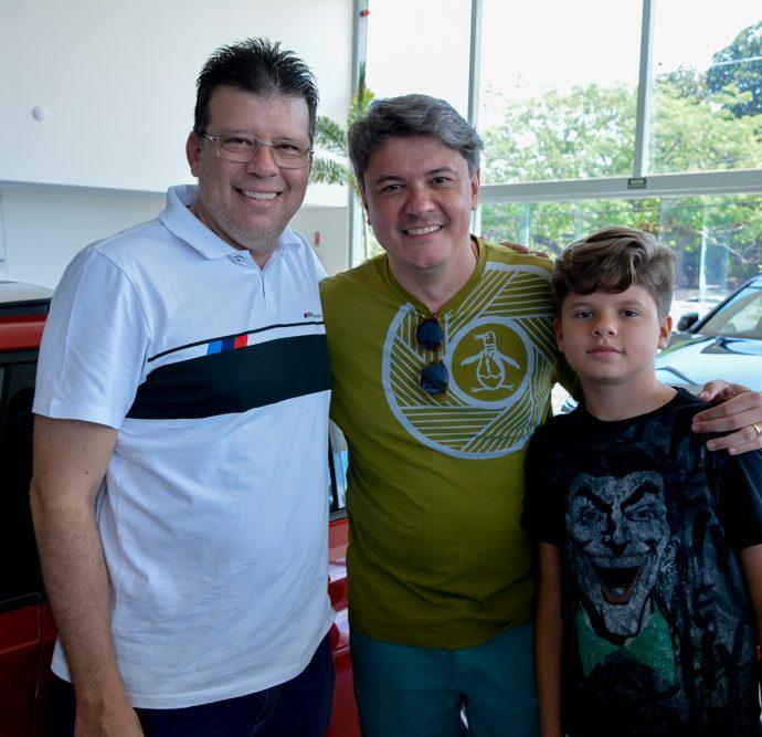 Alex Aguiar, Flávio Cavalcante E Pedro Airton