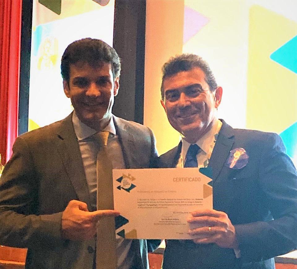 Alexandre Pereira vence o Prêmio Nacional do Turismo 2019