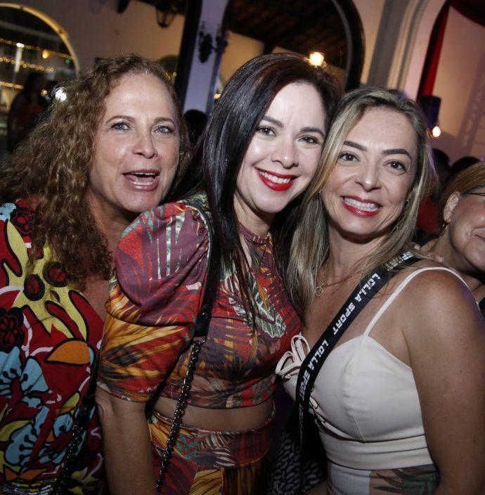 Ana Carolina, Rose Ximenes E Patricia Aguiar