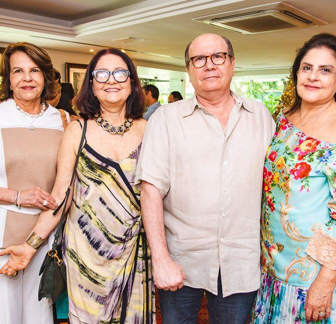Ana Fiuza, Diane Carneiro, Mario Condeiro E Celina