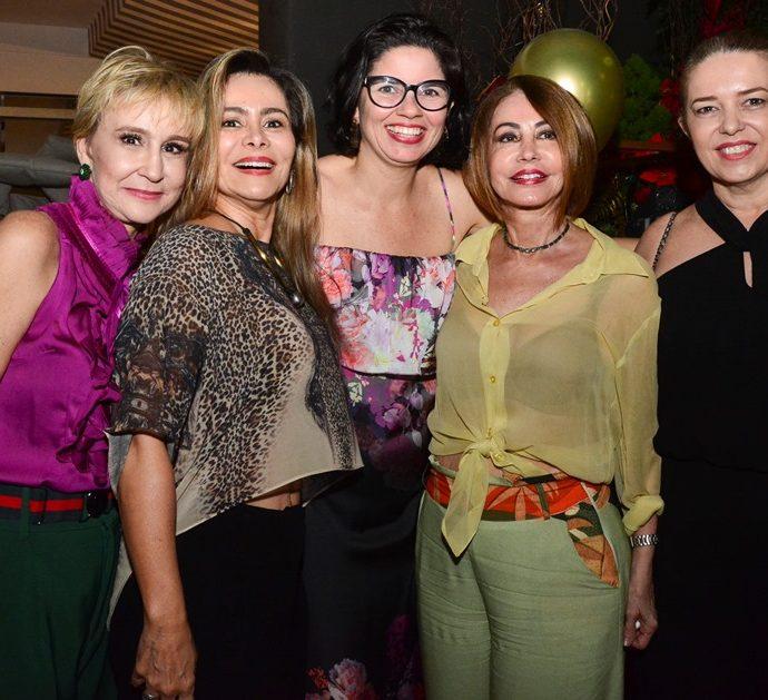 Ana Ramalho, Gina Paiva, Juliana Atem, Tereza Paiva E Inês Cavalcante