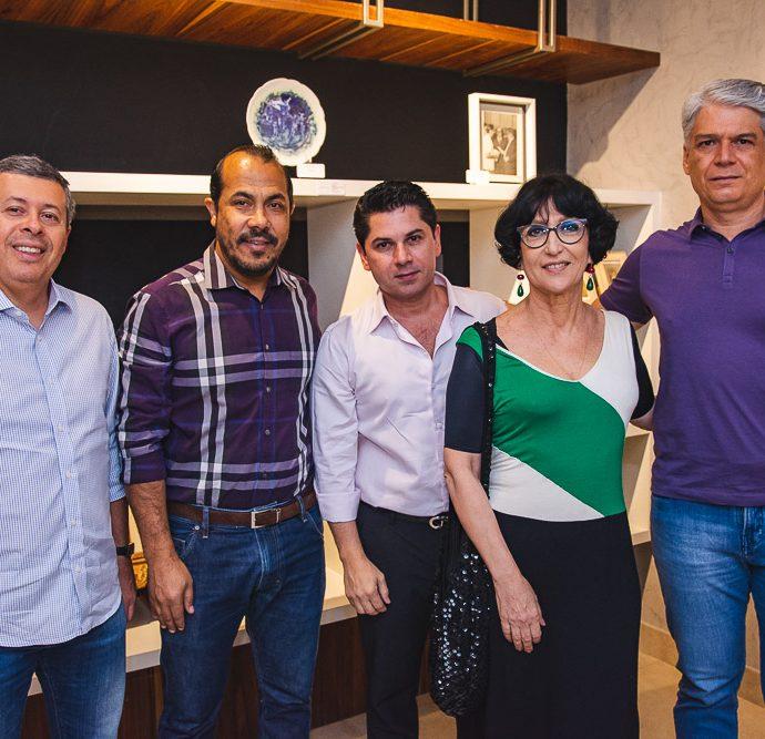 Anastacio Marinho, Antonio Almeida, Pompeu Vasconcelos, Denise Mattar E Leonardo Vidal