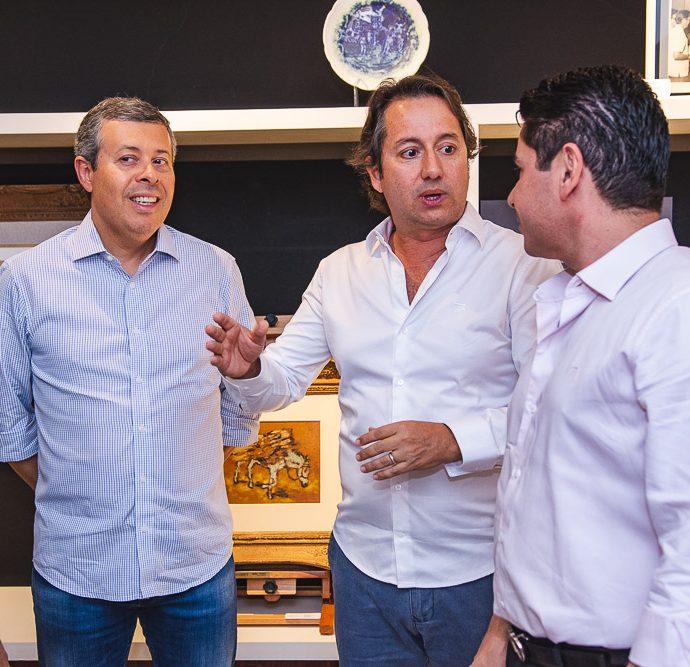 Anastacio Marinho, Rodrigo Parente E Pompeu Vasconcelos