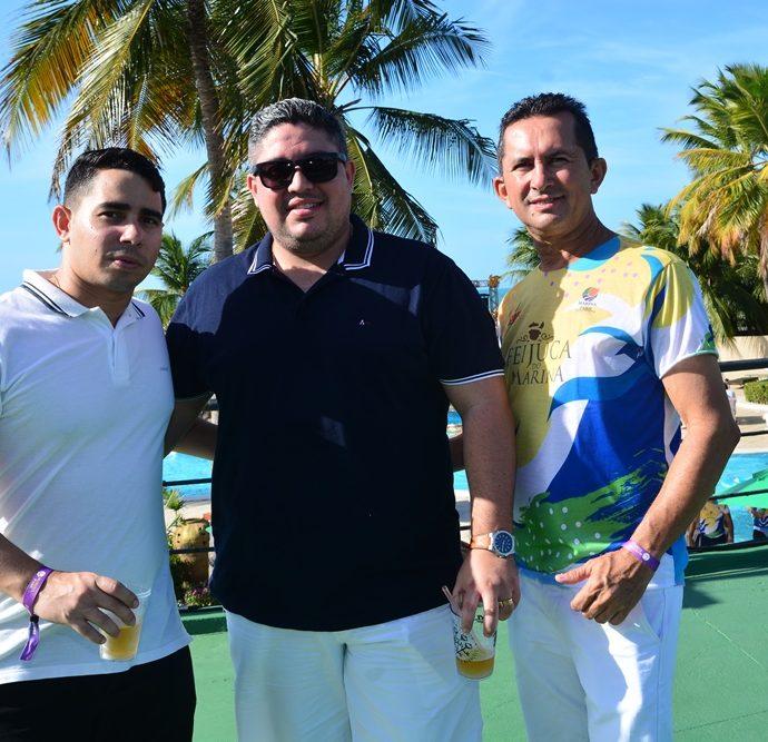 Anderson Vieira, Diego Ribeiro, Welington Pereira
