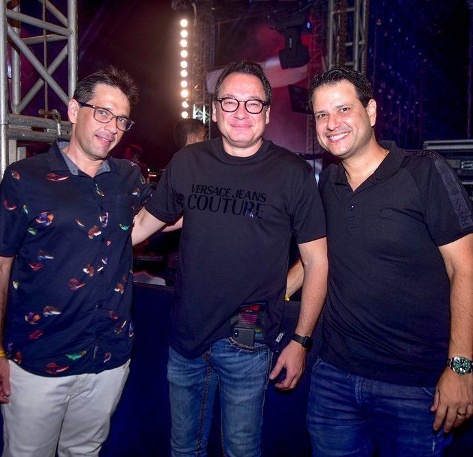 André Camurça, Pedro Neto, Celso Luis
