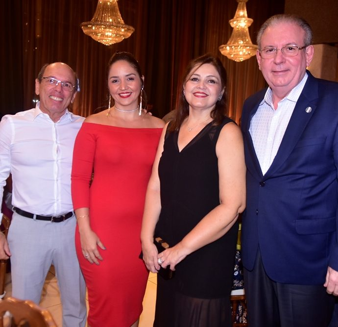 André Montenegro, Rafaela Rocha, Rosangela Cavalcante, Ricardo Cavalcante