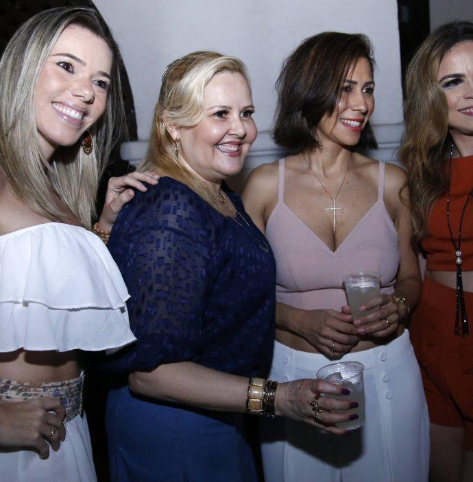 Andrea Carla, Conceicao Abrantes, Livia Nunes E Helina Da Hora