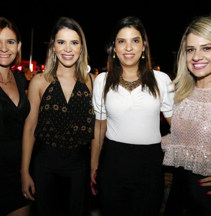 Angeline Macedo, Carol Sampaio, Natalia Maciel E Iana Maia