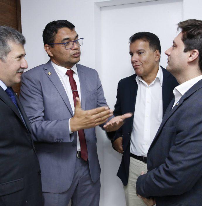 Antonio Henrique, Sargento Reginauro, Ezio Feitosa E Lucas Xavier