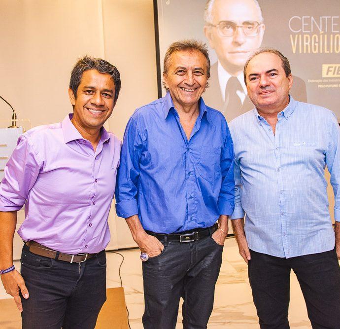 Armando Costa, Carolino Soares E Juacir Sousa
