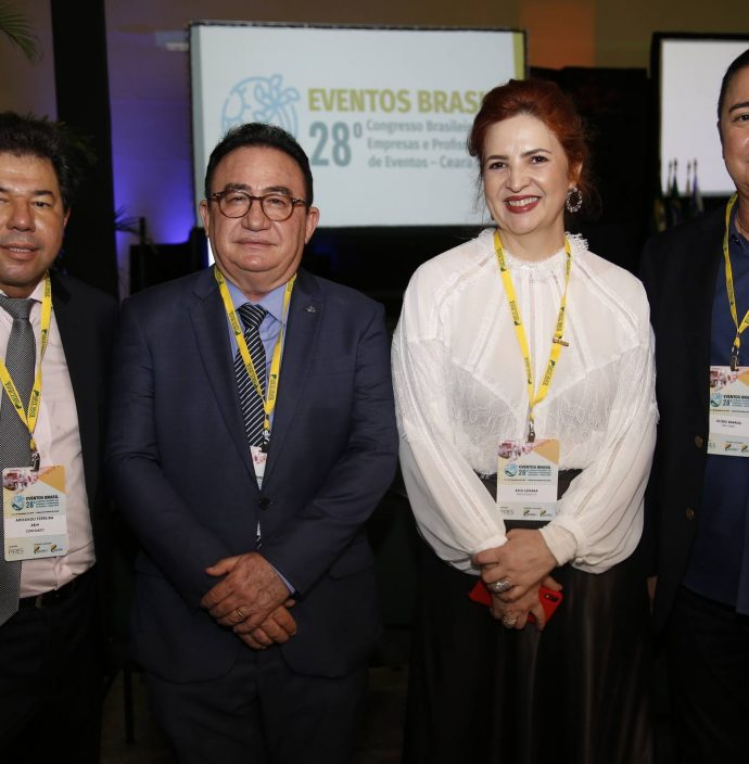 Armando Ferreira, Manuel Linhares, Enid Camara E Eliseu Barros