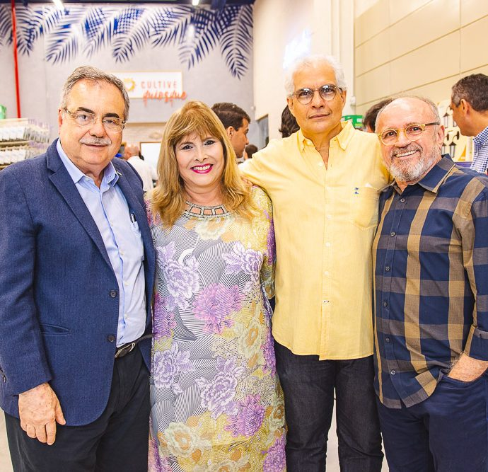 Assis Cavalcante, Ritelza Cabral, Marco Aurelio Camara E Vando Figueiredo