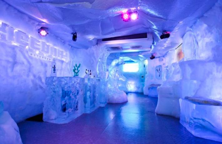 Fortaleza recebe maior bar de gelo do mundo