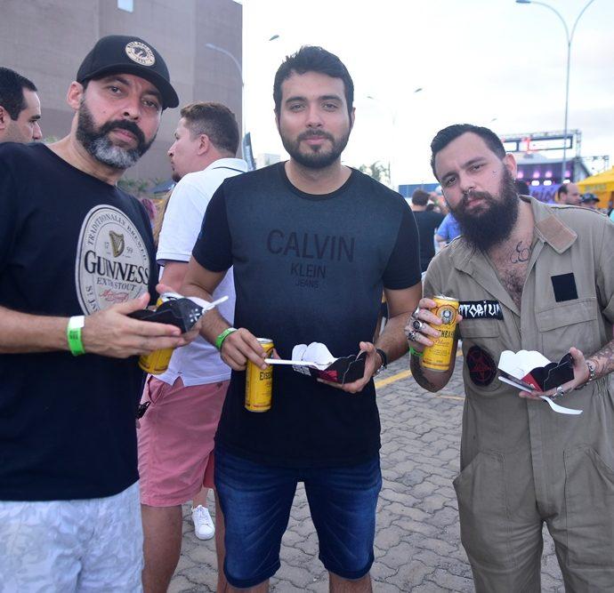 Barreto Silva, Rodrigo Pinto, Claudio Macedo