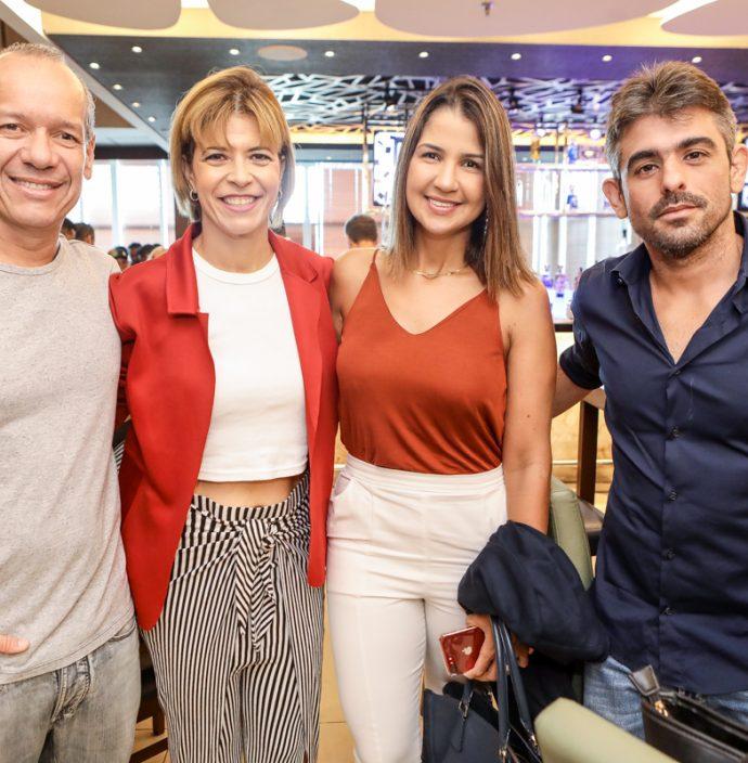 Beto Cavalcante, Josi Celiberto, Talita Chami E Paulo Rocha
