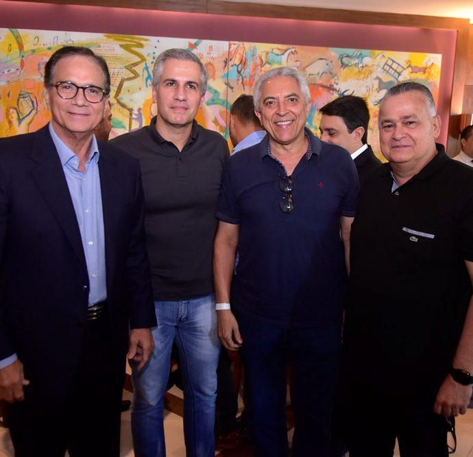 Beto Studart, Adolfo Bichucher, José Carlos Fortes, Petronio Leitão