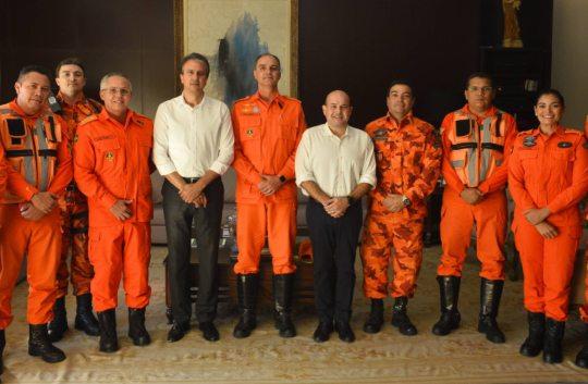 Roberto Cláudio concederá a Medalha Dragão do Mar para o Corpo de Bombeiros do Ceará
