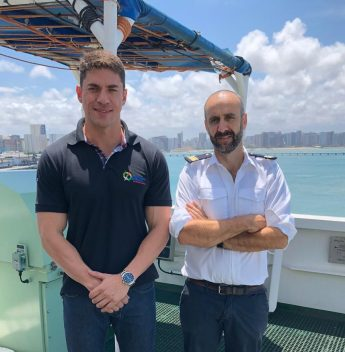 Ceará Marine Pilots foi escolhida para atracar navio europeu
