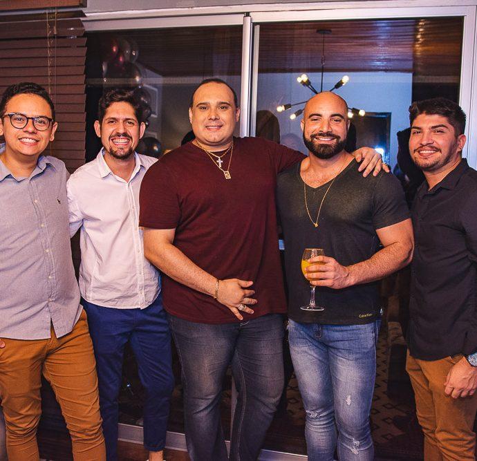 Bruno Reboucas, Carlos Fabricio, Julio Macedo, Alan Robson E Julio Santos