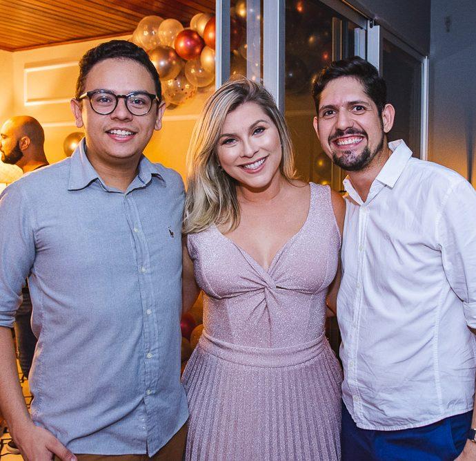 Bruno Reboucas, Genice Brandao E Carlos Fabricio