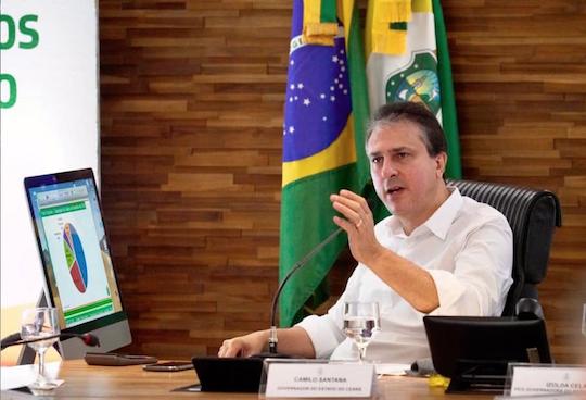Camilo define as prioridades do Ceará com o seu secretariado