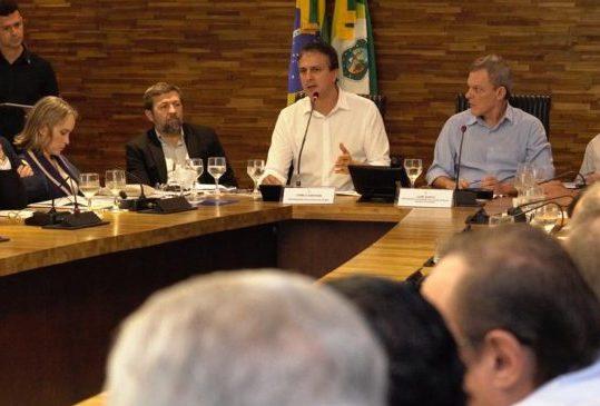 Camilo debate prioridades para este fim do ano com deputados