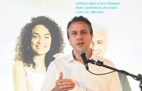 Camilo Santana participa de almoço com empresários