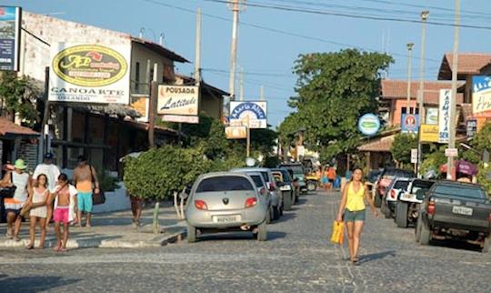 Estacionamento na área de Canoa Quebrada inicia operações dia 27