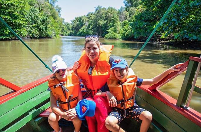 Sabe onde Onélia Santana leva seus filhos no fim de semana?
