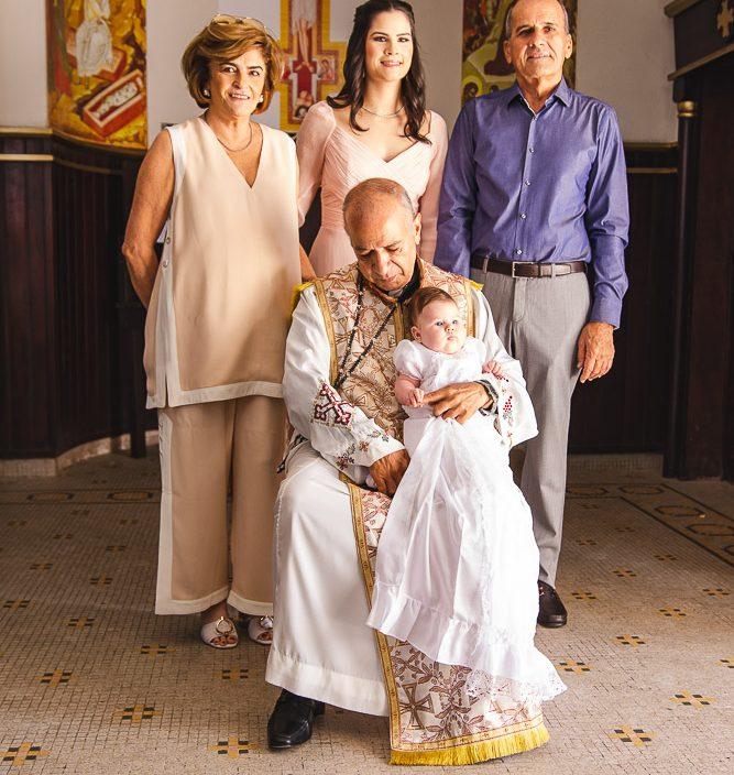 Carla Lima, Camile Carneiro, Padre, Celine Carneiro E Jose Quintao
